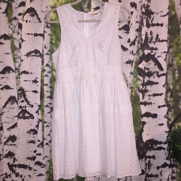 Altar'd State Dresses & Skirts - New w/Tags Alter'd State Eyelet w/trim White Dress